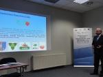 Konferencja podsumowująca Konkurs Samorządowy Lider Zarządzania 2015 - Wystapienie Prezesa LGD Cezarego Adama Nowek